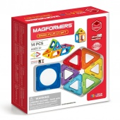Конструктор Magformers Basic Plus 14 set